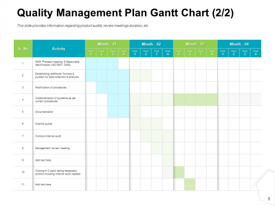 Project_Quality_Management_Plan_Ppt_PowerPoint_Presentation_Complete_Deck_With_Slides_Slide_9