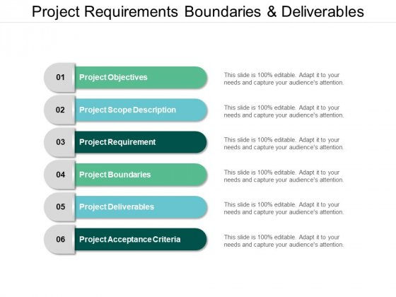Project Requirements Boundaries And Deliverables Ppt PowerPoint Presentation Ideas Examples