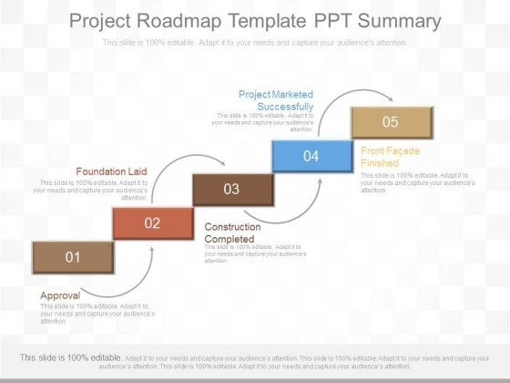 Approval PowerPoint Templates Slides And Graphics - Project roadmap template ppt