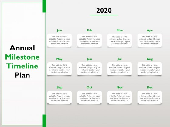 Project_Scheduling_Timeline_Annual_Milestone_Timeline_Plan_Ppt_Summary_PDF_Slide_1