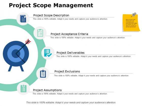 Project Scope Management Ppt PowerPoint Presentation Styles Slides