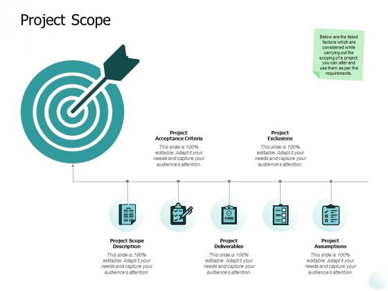 Project Scope Ppt PowerPoint Presentation Portfolio Design Inspiration
