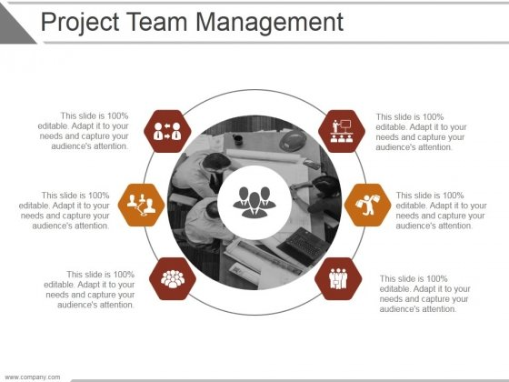 Project Team Management Ppt PowerPoint Presentation Template