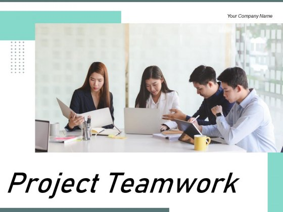 Project Teamwork Employees Brainstorming Team Leader Ppt PowerPoint Presentation Complete Deck