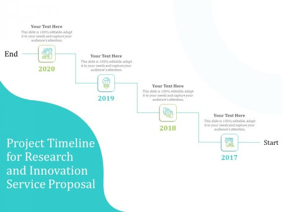 Project Timeline For Research And Innovation Service Proposal Ppt PowerPoint Presentation Slides Layout PDF