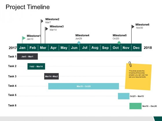 Project Timeline Ppt PowerPoint Presentation Gallery Deck