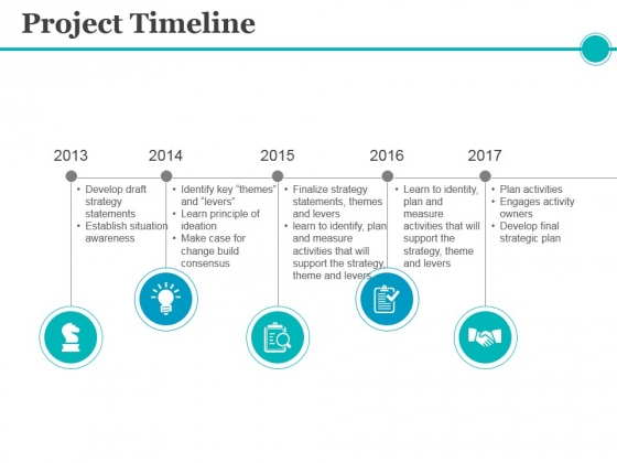 Project Timeline Ppt PowerPoint Presentation Inspiration Slide