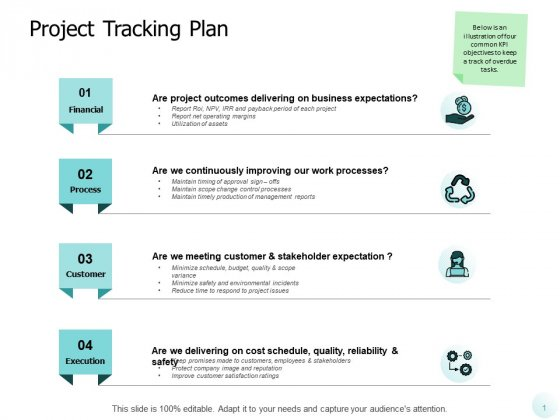 Project Tracking Plan Ppt PowerPoint Presentation Layouts Graphic Images