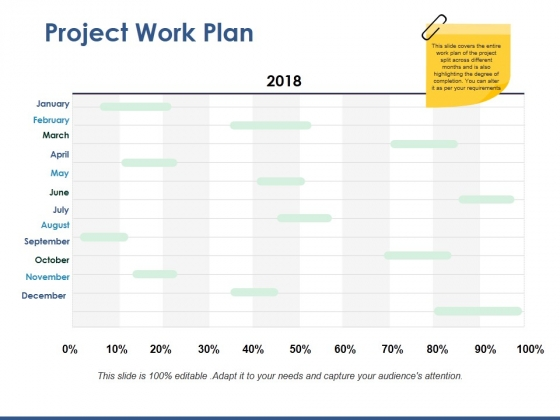 Project Work Plan Ppt PowerPoint Presentation Icon Examples