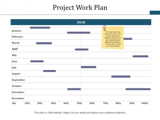 Project Work Plan Ppt PowerPoint Presentation Ideas Inspiration