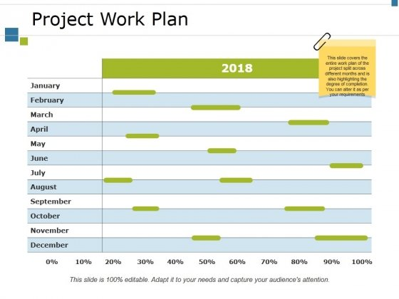 Project Work Plan Ppt PowerPoint Presentation Slides Example Introduction