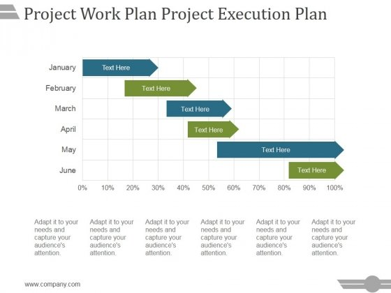 Project Work Plan Project Execution Plan Template 1 Ppt PowerPoint ...
