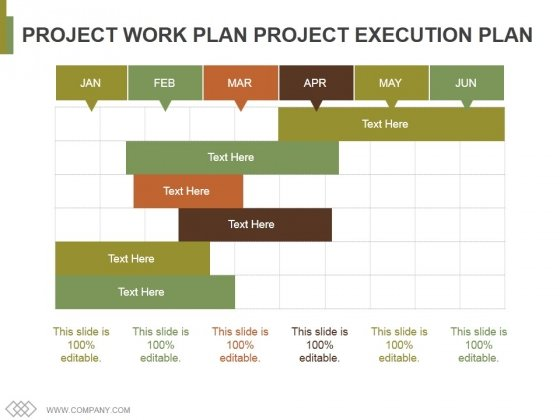 project work plan project execution plan template 1 ppt powerpoint