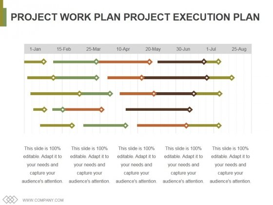 Project Work Plan Project Execution Plan Template 2 Ppt PowerPoint ...