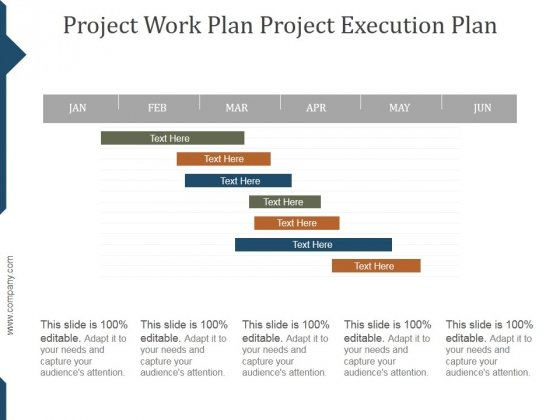 Project Work Plan Project Execution Plan Template Ppt PowerPoint ...