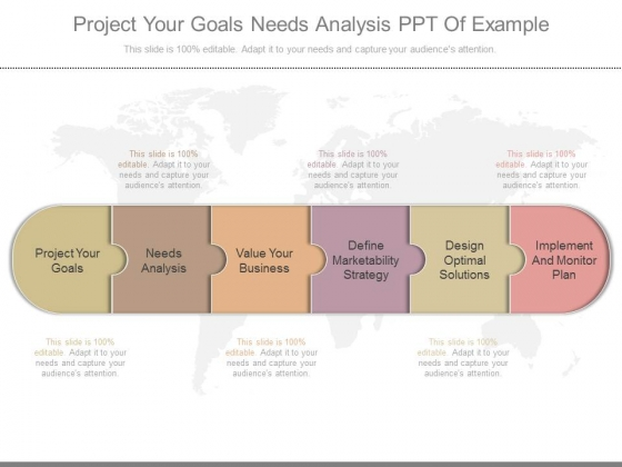 Project Your Goals Needs Analysis Ppt Of Example