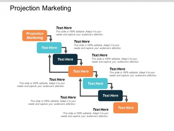 Projection Marketing Ppt PowerPoint Presentation Professional Graphics Download Cpb