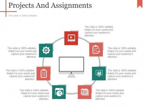 Projects And Assignments Template 2 Ppt PowerPoint Presentation Model Gallery