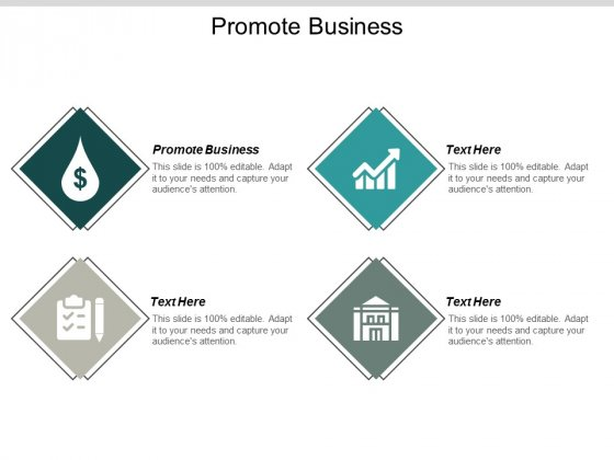 Promote Business Ppt Powerpoint Presentation Visual Aids Example 2015 Cpb