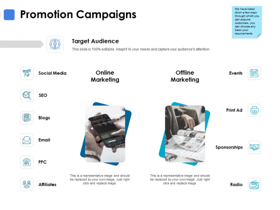 Promotion Campaigns Ppt PowerPoint Presentation Portfolio Example Introduction