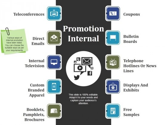 Promotion Internal Ppt PowerPoint Presentation Model Graphics Template