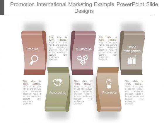 Promotion International Marketing Example Powerpoint Slide Designs