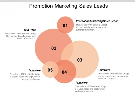 Promotion Marketing Sales Leads Ppt PowerPoint Presentation Layouts Example Introduction Cpb