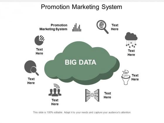 Promotion Marketing System Ppt PowerPoint Presentation Summary Design Inspiration Cpb