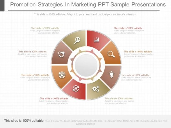Promotion Strategies In Marketing Ppt Sample Presentations