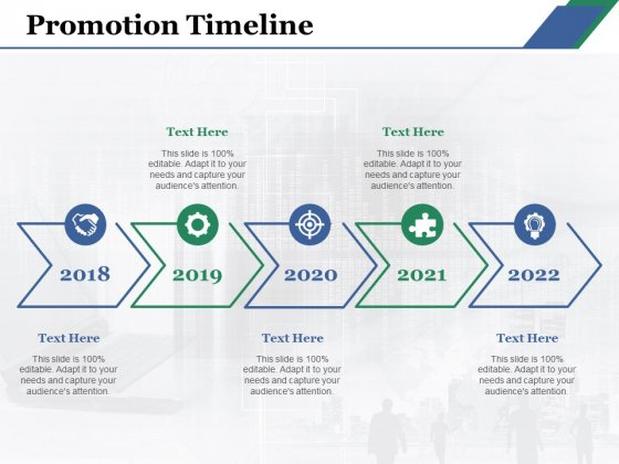 Promotion Timeline Ppt PowerPoint Presentation Styles Shapes