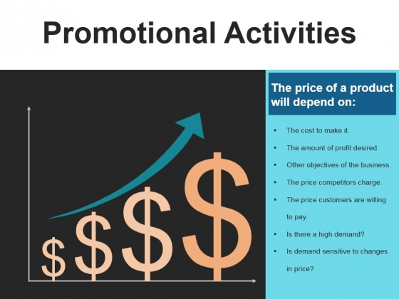 Promotional Activities Template 2 Ppt PowerPoint Presentation Template