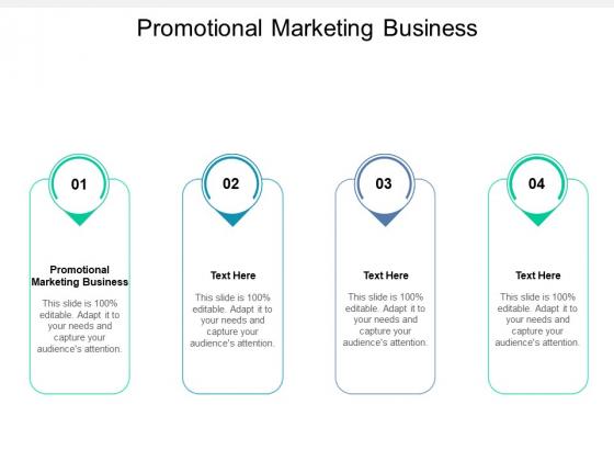 Promotional Marketing Business Ppt PowerPoint Presentation Ideas Slideshow