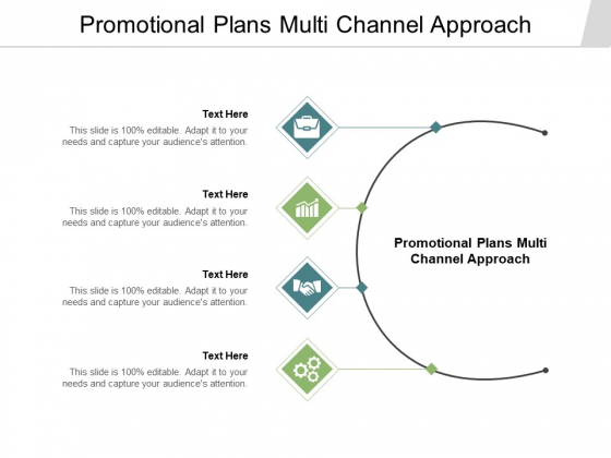 Promotional Plans Multi Channel Approach Ppt PowerPoint Presentation Infographic Template Inspiration Cpb Pdf