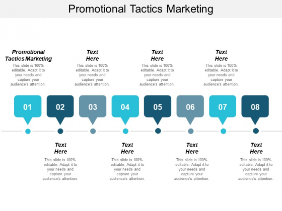 Promotional Tactics Marketing Ppt PowerPoint Presentation Layouts Ideas
