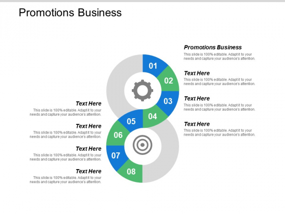 Promotions Business Ppt PowerPoint Presentation Model Graphics Template Cpb