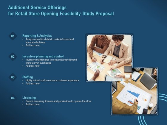 Proof Concept Variety Shop Additional Service Offerings For Retail Store Opening Feasibility Study Proposal Themes PDF
