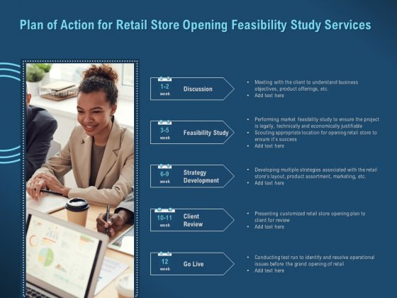 Proof Concept Variety Shop Plan Of Action For Retail Store Opening Feasibility Study Services Mockup PDF