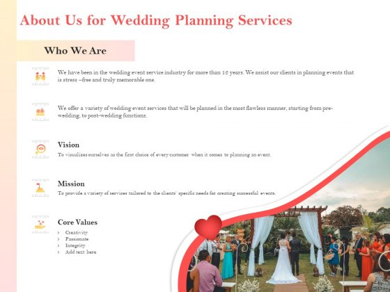 Proposal By Professional Wedding Planner Ppt Powerpoint Presentation Complete Deck With Slides Powerpoint Templates