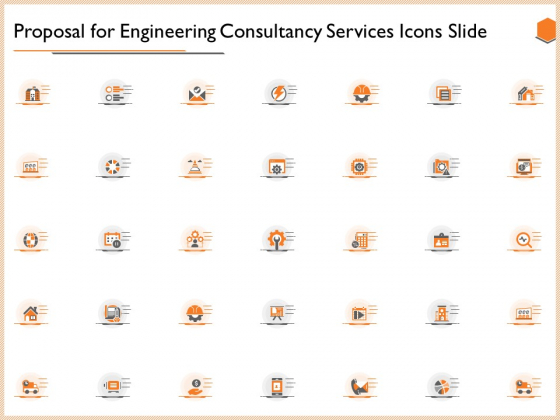 Proposal For Engineering Consultancy Services Icons Slide Themes PDF