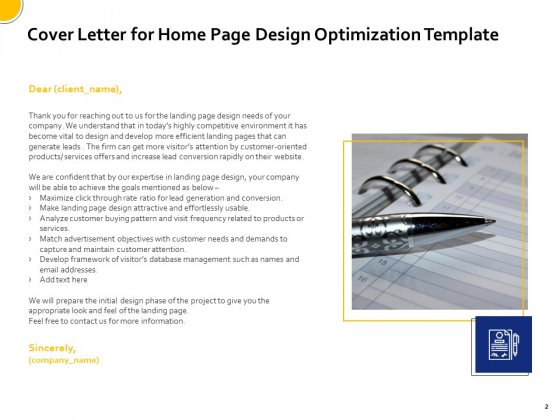 Proposal_For_Home_Page_Design_Optimization_Template_Ppt_PowerPoint_Presentation_Complete_Deck_With_Slides_Slide_2