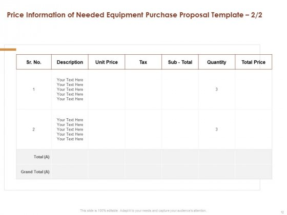 Proposal_For_Purchasing_New_Equipment_Ppt_PowerPoint_Presentation_Complete_Deck_With_Slides_Slide_12