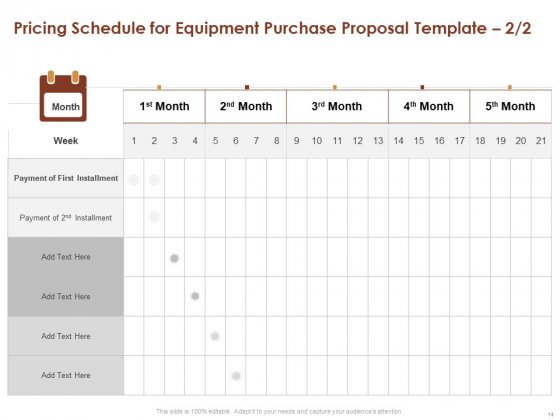 Proposal_For_Purchasing_New_Equipment_Ppt_PowerPoint_Presentation_Complete_Deck_With_Slides_Slide_14