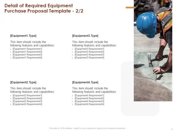 Proposal_For_Purchasing_New_Equipment_Ppt_PowerPoint_Presentation_Complete_Deck_With_Slides_Slide_6