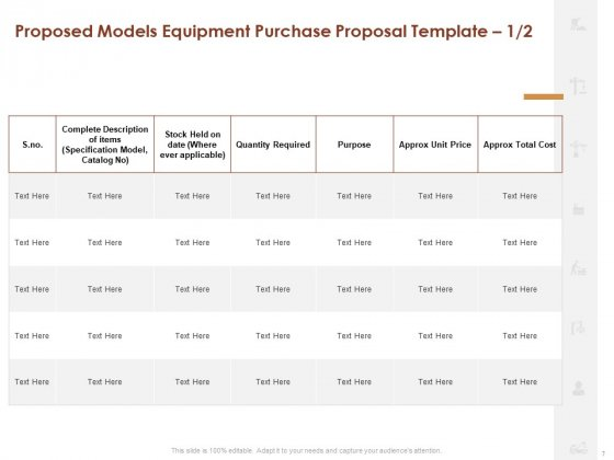 Proposal_For_Purchasing_New_Equipment_Ppt_PowerPoint_Presentation_Complete_Deck_With_Slides_Slide_7
