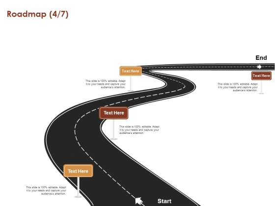 Proposal For Purchasing New Equipment Roadmap Four Stages Ppt Model Ideas PDF