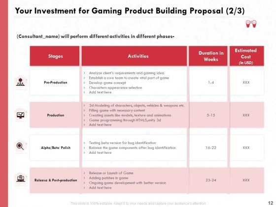 Proposal_To_Build_A_Gaming_Computer_Ppt_PowerPoint_Presentation_Complete_Deck_With_Slides_Slide_12