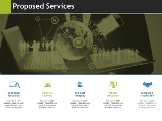Proposed Services Ppt PowerPoint Presentation Model Samples