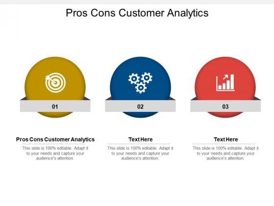 Pros Cons Customer Analytics Ppt PowerPoint Presentation Model Slides Cpb Pdf
