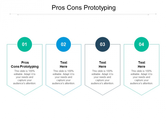 Pros Cons Prototyping Ppt PowerPoint Presentation Pictures Influencers Cpb Pdf
