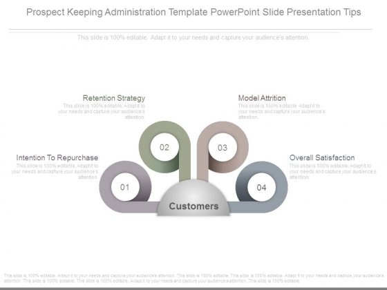 Prospect Keeping Administration Template Powerpoint Slide Presentation Tips